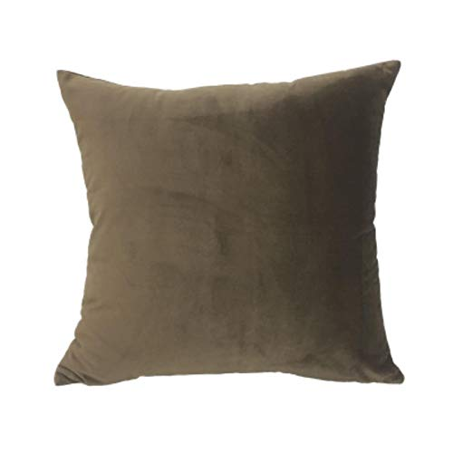 ADAFY Soft Velvet Cushion Cover Decorative Pillows Throw Pillow Case Soft Solid Colors Luxury Home Decor Living Room Sofa Seat Coffee