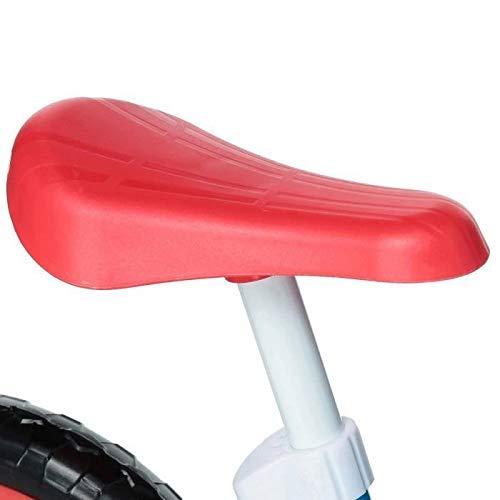Mondo-28501 Spiderman Balance Bike, Colore RossoBiancoBlu, bambino, 28501