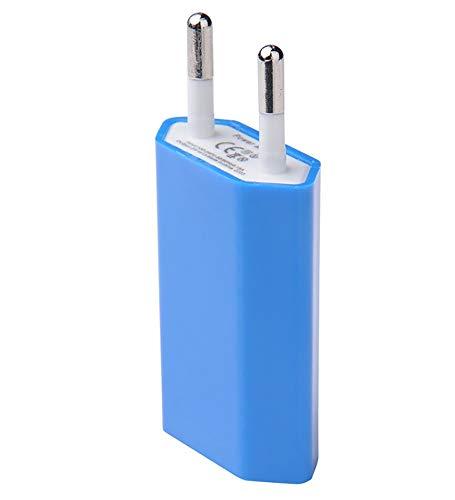 Shot Case Adaptador USB Enchufe de Pared para Nintendo Switch Sector 1Puerto Corriente AC Cargador Azul