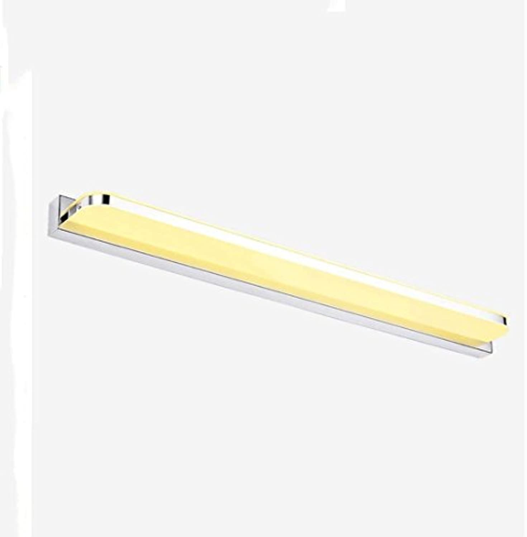 JBP Max Spiegel Leichtes Bad Licht LED-Spiegel Scheinwerfer Einfache Wand Lampe Bad Dressing Tischspiegel Schrank Beleuchtung,WarmWeiß,7W42cm