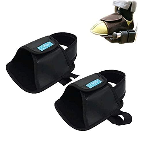 Transporte De Seguridad Cinturón De Apoyo Para Pies Zapatos De Restricción Para Silla De Ruedas Zapatos Fijos, Antideslizantes Zapatos Fijos De Seguridad Para Sillas De Ruedas Para Ancianos