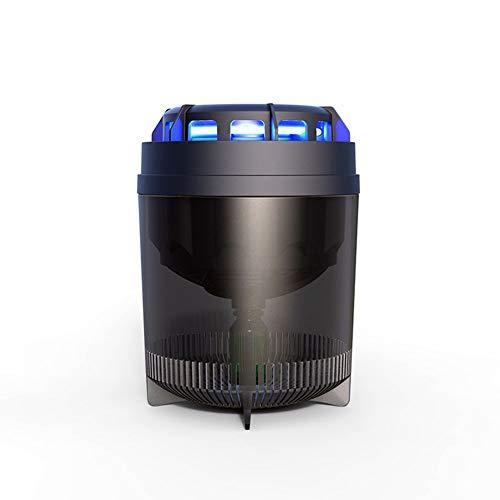 Moskito-Killer-Lampe, Haushalts-Photokatalysator Moskito-Killer-Lampe, Silent Physical Air-Dry Mosquito Killer-Black