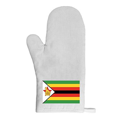 Mygoodprice Ofenhandschuh Topflappen Flagge Simbabwe
