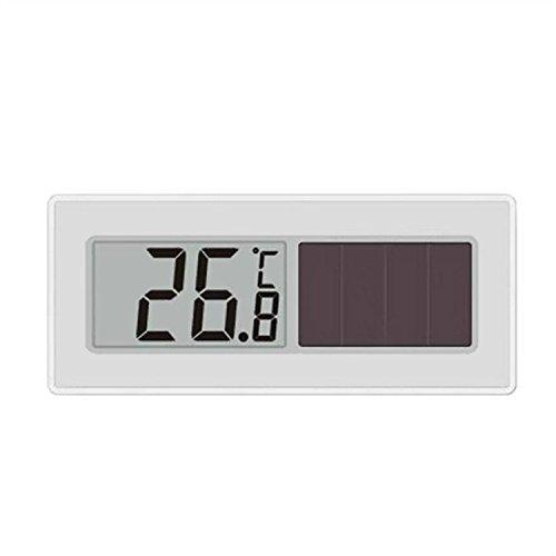 Wasserdicht Solar Digitales Solar Thermometer mit Solarzellen