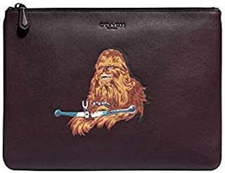 Coach x Star Wars Large Pouch With Chewbacca