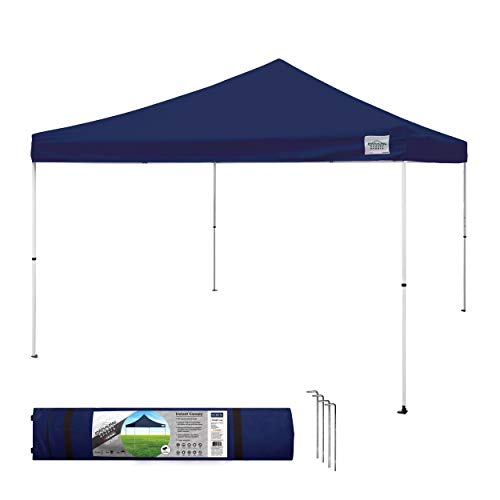 Caravan Canopy Sports 21208100060 Caravan M-Series 2 Pro 12 X 12 Foot Straight Leg Kit, Navy Blue Instant Canopy, 12x12