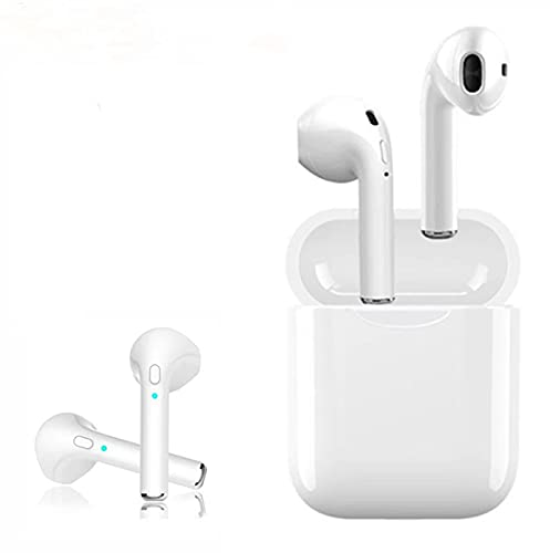 Bluetooth Headphones Waterproof Sports Earbuds Music headsets Mini Earphones in-Ear Stereo Sound Noise Cancelling 2 Built-in Mic Earphones Charging case Compatible Most Bluetooth Devices