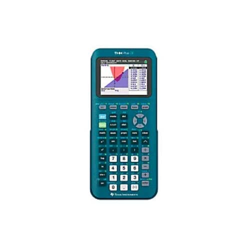 Texas Instruments TI-84 Plus CE - Calcolatrice grafica portatile, colore: foglia di tè, 84PLCE/TBL/1L1/AS