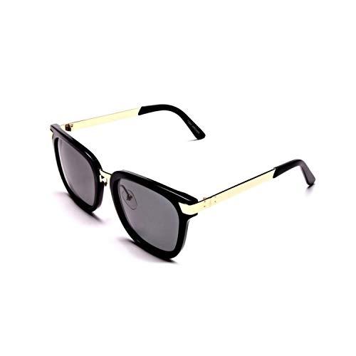 Tom Archer mujer alta calidad elegante diseñador moderno rectangular polarizado protección UV gafas de sol con funda paño de limpieza cuidado de lentes kit