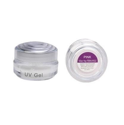 manucure uv-gel epais rose 14ml sina
