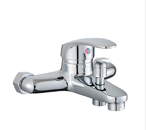 Waschtischarmaturen Küchenarmaturen Waschraumarmaturen Kupfer Heiß Und Kalt Mischventil Wasserhahn Bad Dusche Wasserhahn Badewanne Dusche Dreifach Wasserhahn