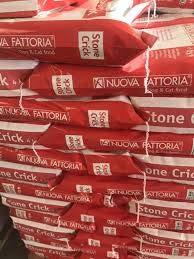 Nuova fattoria Stone Crick 14 kg per Cani Adulti Mantenimento ENERGETICO 6 Sacchi