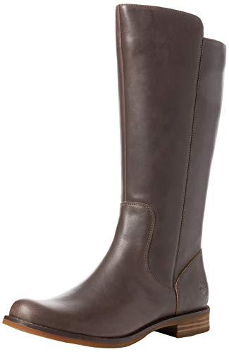 Timberland Damen Magby Tall Stiefel, Braun (Dark Brown Full Grain), 39 EU