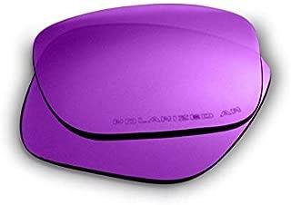 Lentes de repuesto Oakley Holbrook (púrpura): polarizadas, de 1,4 mm de grosor, revestidas con AR, protección UV adicional, se ajusta perfectamente, para hombres y mujeres