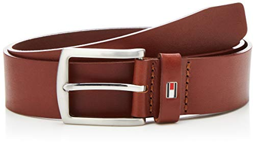 Tommy Hilfiger New Denton 3.5 Belt, Ceinture Homme, Marron (DARK TAN 257), 100 cm (Taille Fabricant: 100)