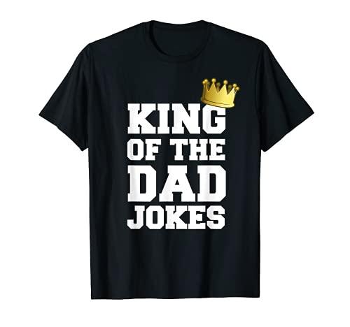 Re del papà scherzi divertente giorno dei padri scherzo coro Maglietta