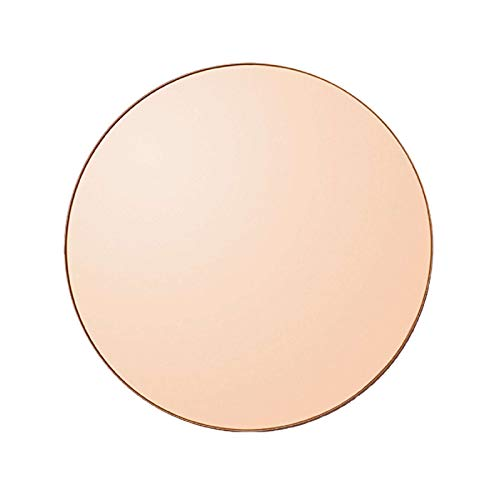 AYTM - Spiegel - Circum- Amber/rosa - MDF/Spiegelglas - D: 90 cm - Höhe 2 cm
