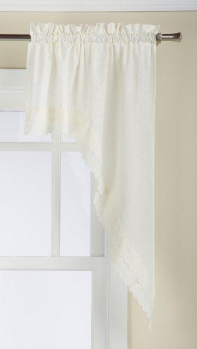 Lorraine Home Fashions, Ecru, Girlande mit Ösen, 152,4 x 96,5 cm, 2 Stück, 152,4 x 96,5 cm