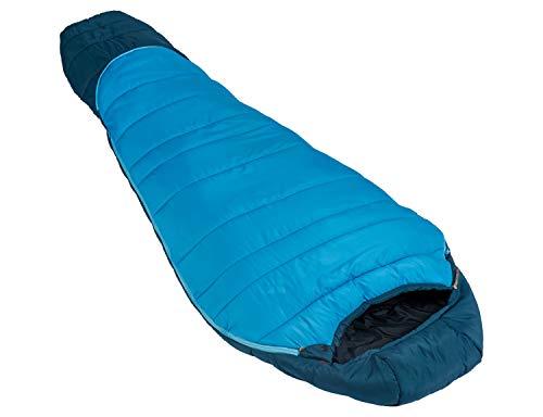 VAUDE Kinder Schlafsack Kobel Adjust 500 SYN, längenverstellbarer Kinderschlafsack, für Größen von 130-165cm, baltic sea, one Size, 129623340010