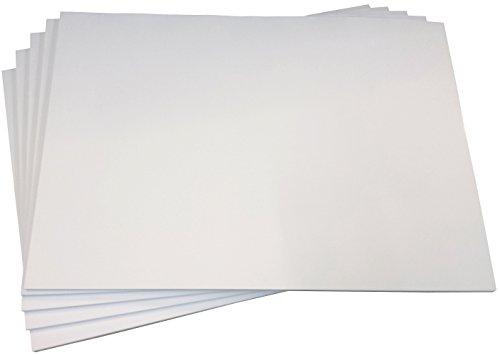 1x Einfache Schreibtischunterlage Malblock Zeichenblock blanko 40 Blatt, DIN A2, Qualitäts-Offset-Papier 80g/m² (22343)