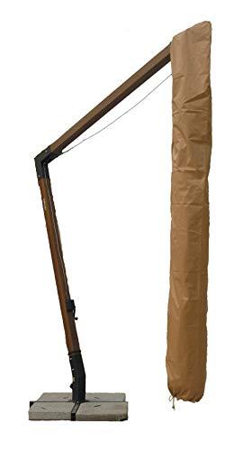 GIARDINI DEL RE Custodia per Ombrelloni Decentrati, Beige, 300x300x2 cm