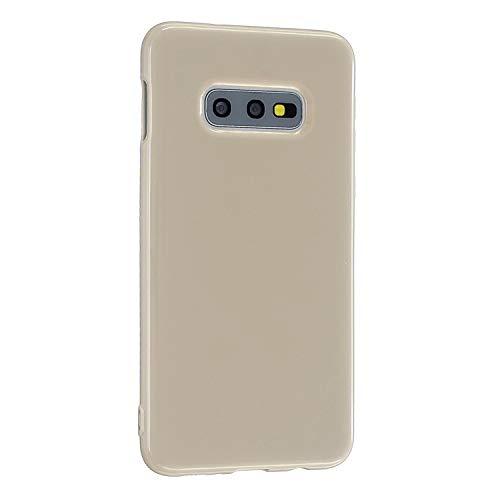 CrazyLemon Hülle für Samsung Galaxy S20 Ultra, Niedlich Volltonfarbe Gelee Design Weich TPU Silikon Slim Dünn Handyhülle Stoßfest Schutzhülle - Khaki