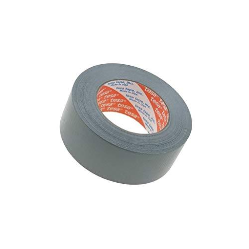 TESA-4613-48SR Braid duct silver 48mm L50m Adhesive natural rubber TESA