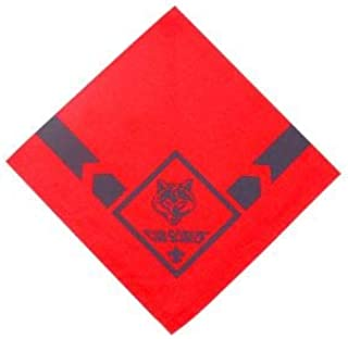 cub scout red wolf neckerchief