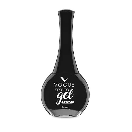 Esmalte Negro Mate  marca VOGUE