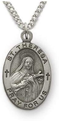 St. Theresa Patron Max 65% OFF of Aviators Sterling Missions Silver Ranking TOP16 Engra