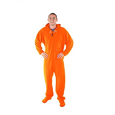 orange onesie adult