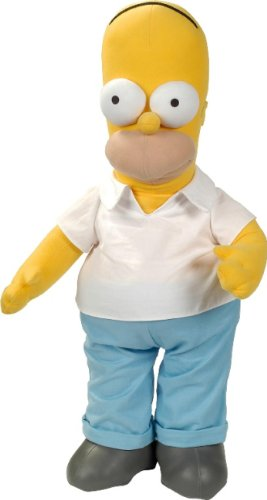 United Labels 0803636 - The Simpsons Stofffigur Homer 24 cm