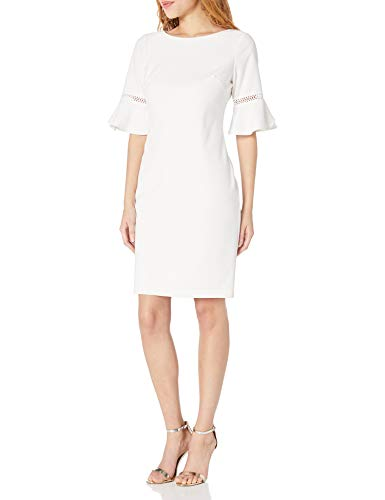 Jessica Howard Women's Tulip Bell Sleeve Shift Dress