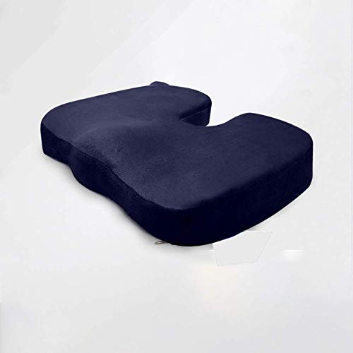 Best Review Of DWLXSH Seat Cushion Orthopedic Memory Foam and Lumbar Support Pillow Set of