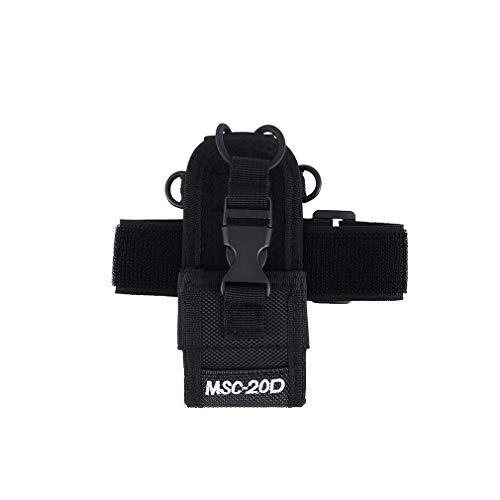 Bolsa de Brazo aplicable a Baofeng Uv-5r 888s 5rb Midland Walkie-Talkie Negro
