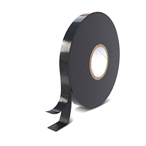 Rietlow Doppelseitiges Klebeband Extra Stark - Universal Montageband aus widerstandsfähigem PE-Schaum - Schwarzes Doppelseitiges Klebeband 15mm x 10m - Verbessertes Konzept 2020