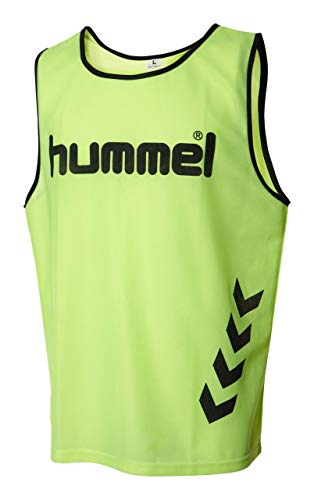 Hummel Fundamental Training - Camiseta de entrenamiento, color amarillo (neon yellow), talla...