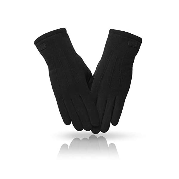 MAJCF Winter Gloves for Women,Touch Screen Gloves,Cold Weather Thermal Warm Gloves for Running Driving
