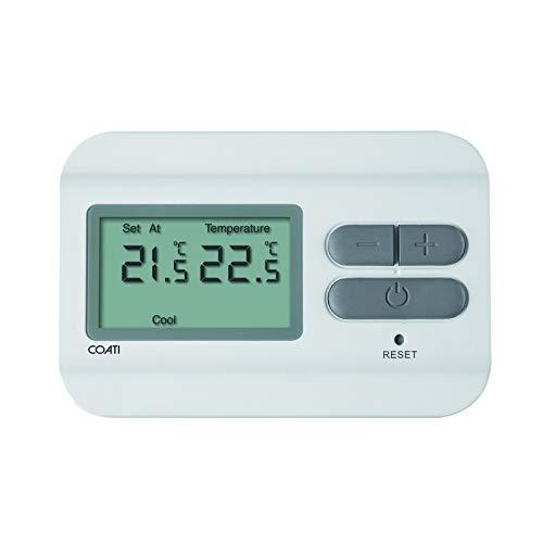 Termostato Digital para Calefacción y Aire Acondicionado AF126661 COATI