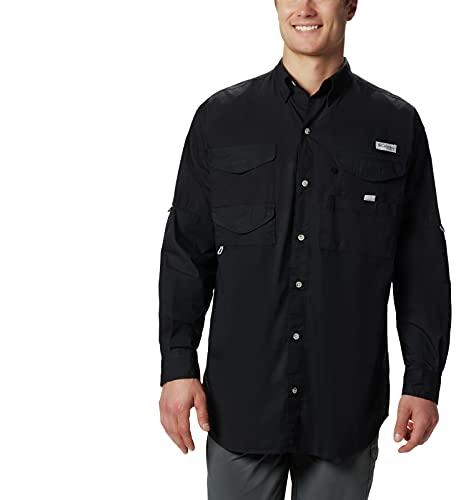 Columbia Men's Bonehead Long Sleeve Shirt, Black, XL