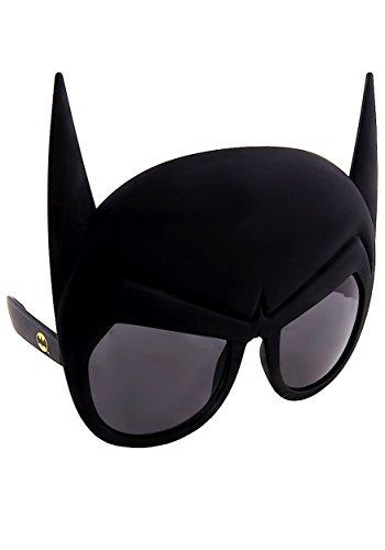 Sunstaches DC Comics Batman Maske Sonnenbrille, Partyzubehör, UV400