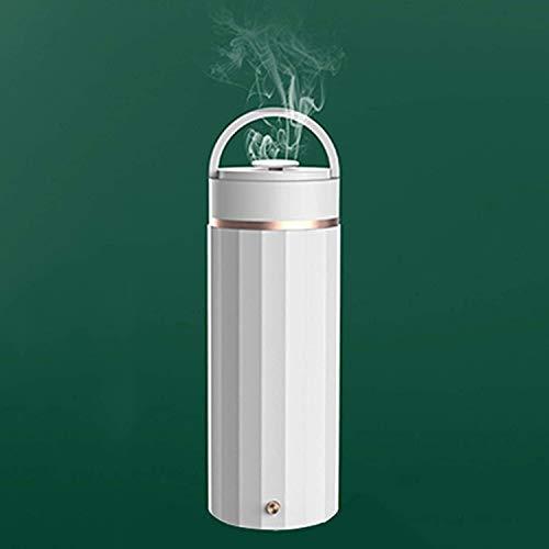 Taza de café inteligente con control de temperatura, hervidor eléctrico para botella de agua caliente, taza portátil de acero inoxidable de 330 ml, cocción rápida con cable USB para agua caliente, caf