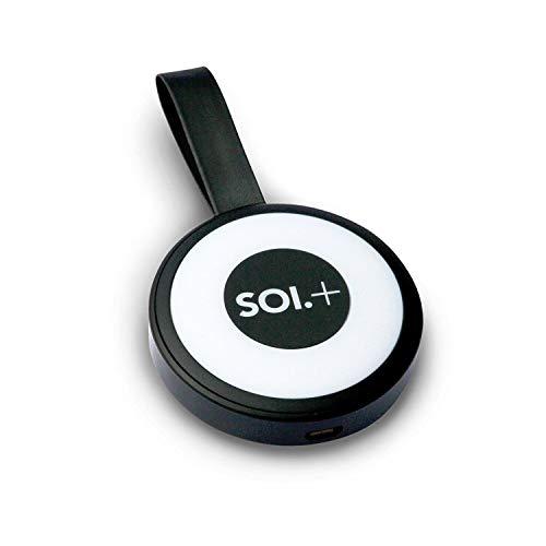 SOI +500mAh Version Handtaschenlicht + Power Bank schwarz