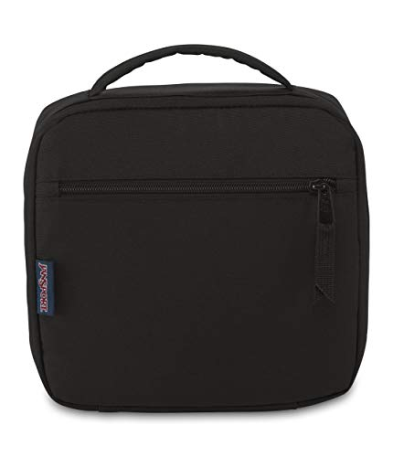 JanSport Lunch Break Insulated Cooler Bag - Leakproof Picnic Tote, Black