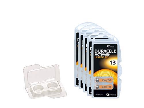 Duracell Easytab/Activair Typ 13 Hörgerätebatterie Zinc Air P13 PR48 ZL2, Big Box Pack, 30 Stück