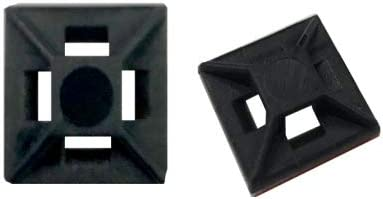 Kable Kontrol Cable Tie Mounts 1 2 Square Adhesive Backed For 18LB Tensile Strength Cable Ties product image