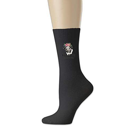 Cotton Socks for Men and Women Moo Bitch Get Out The Hay Novelty Sock Unisex