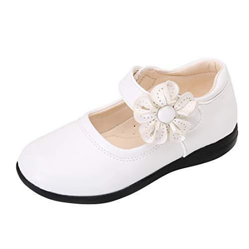 N/P Joeupin Zapatos de vestir uniformes escolares para niñas Mary Jane Ballet...