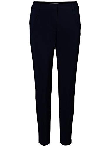 Vero Moda Vmvictoria NW Antifit Ankle Pants Noos Pantalones, Azul (Navy Blazer), 40 /L30 (Talla del Fabricante: Large) para Mujer