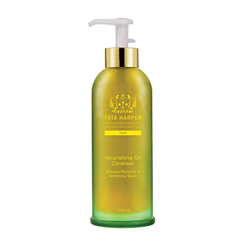 Tata Harper Nourishing Oil Cleanser, Multi-Vitamin Cleansing Oil & Makeup Remover, 100% Natural, Made Fresh in Vermont, 125ml